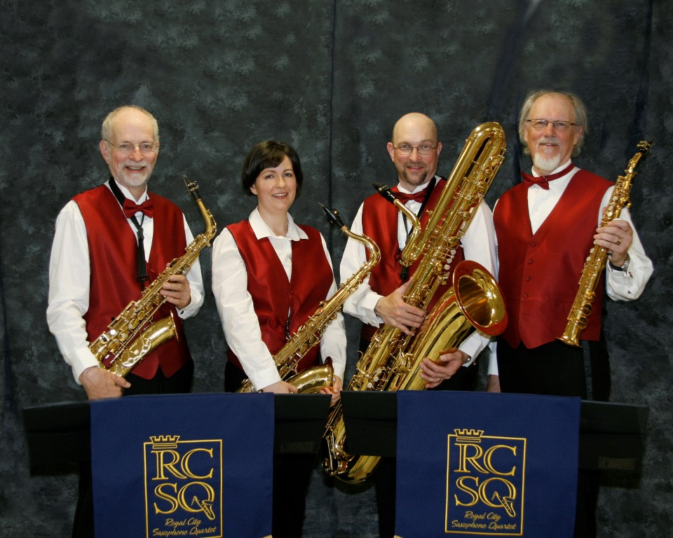 The Royal City Saxophone Quartet - 2002
