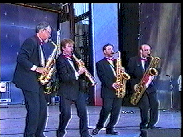 The Royal City Sax Quartet - Canada Day 1998