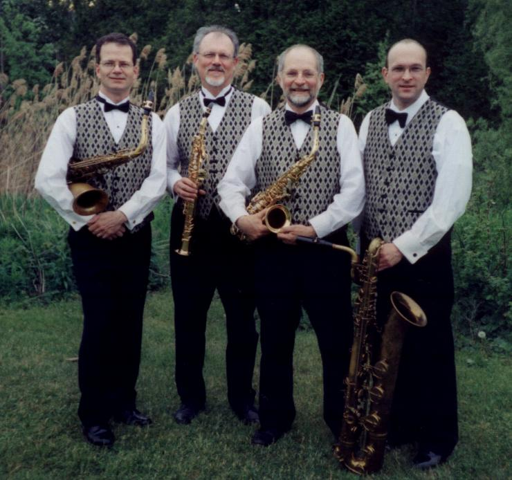 The Royal City Saxophone Quartet - Members